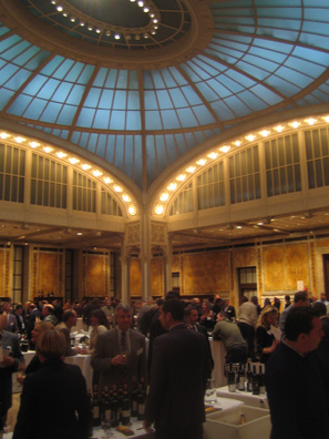 The tasting event was held in the elegant Celeste Bartos Forum at the New York Public Library.