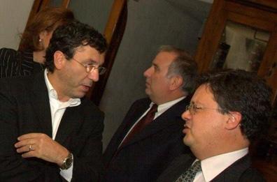 Nicola Marzovilla and Fabrizio Santarelli talked about wine. Probably.