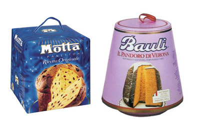 Motta panettone and Bauli pandoro will be available at I Trulli and Centovini this week!