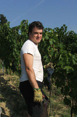 Tuscan winemaker Guido Gualandi is not afraid of getting his hands dirty.