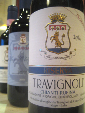 They may be small, but Travignoli's 375ml bottles are always a match for the big boys at Vino.