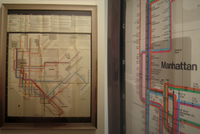 The '74 Vignelli map is as beautiful as it is baffling. Why is Central Park square? Why is the Second Avenue stop east of First Avenue?