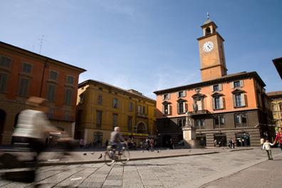 Reggio Emilia's Piazza Prampolini