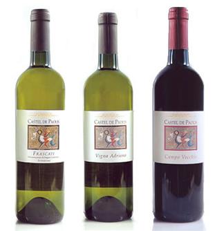 3 castel paolis wines