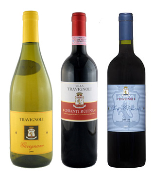 3 travignoli wines