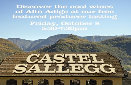 castel sallegg tasting blog